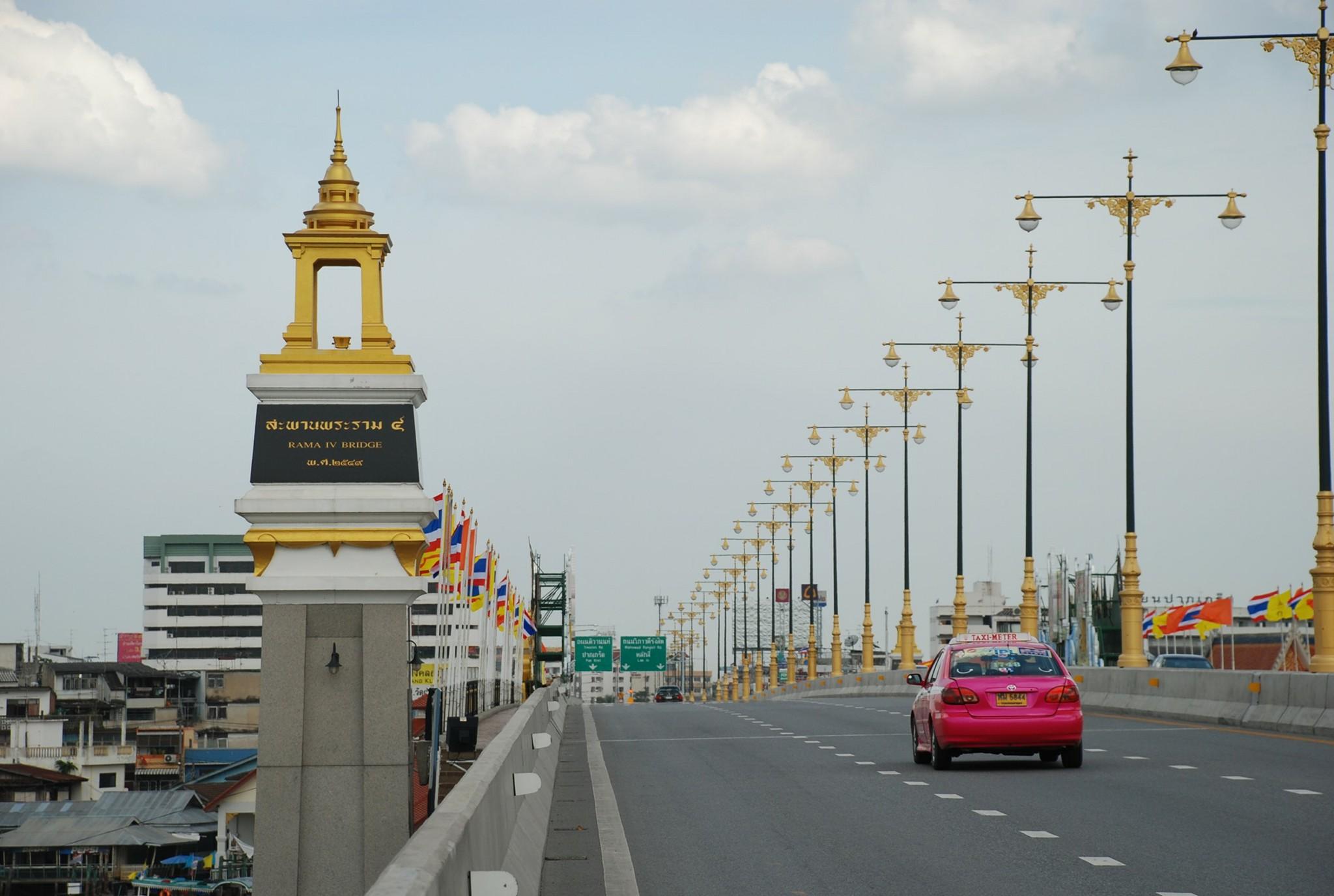 ปิดสะพานพระราม 4 คืนวันศุกร์ที่ 1 มิ.ย.61 เวลา 22.00 - 05.00น. เพื่อทดสอบการรับน้ำหนักบรรทุก