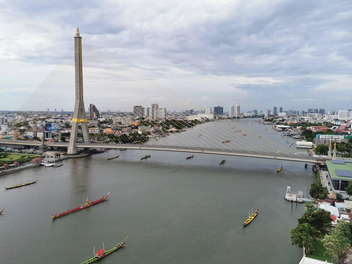 17 ก.ย.62 ซ้อมขบวนเรือพระราชพิธีฯ ปิดการจราจรทางน้ำ