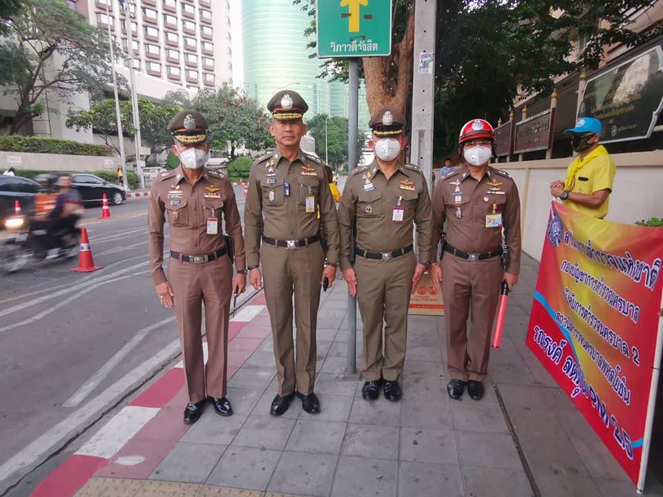ตำรวจจราจรไทยร่วมใจช่วยแก้ไขปัญหาฝุ่น PM2.5