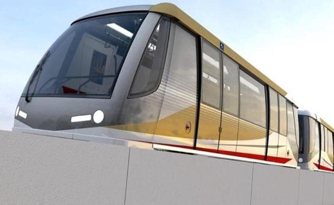 ประชาสัมพันธ์โครงการก่อสร้างรถไฟฟ้าสีทอง